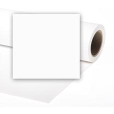 Vibrantone #1101 Arctic White фон бумажный 1,35x6м цвет арктический белый (супер-белый)