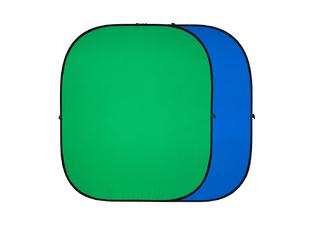 Strobolight FB-1218 GB - Хромакей складной на пружине twist flex Chromakey 120х180см