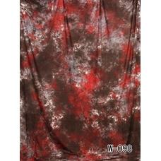 Grifon W-098 фон пятнистый серо-коричневый с красным 2,7х5 м