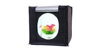 Фотобокс каркасный с подсветкой Strobolight LED Room 80x80x80 см
