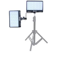 Grifon DVK-280 SL Фотостол с 2-мя осветителями ( 2 тонкие LED панели, стол ST-0405S, 2 гибких кронштейна PBG-200A2, 2 адаптера питания 2,9V )
