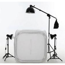 Grifon LC3-80 – Комплект постоянного света  465Вт для предметной съёмки с лайткубом