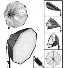 Комплект октобоксов на стойке с лампами Strobolight Double Octo_Youtuber