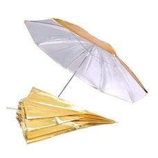 Grifon GS-101 silver/gold комбинированный зонт серебро/золото 101 см