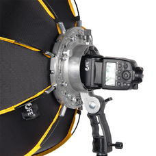 Софтбокс Falcon Eyes StrobMaster 60 с держателем для накамерной вспышки