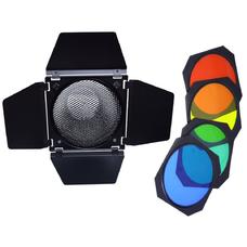 """Grifon BD-05/ BD-200 шторки с цветными фильтрами для рефлектора 7""""(18 см)"""