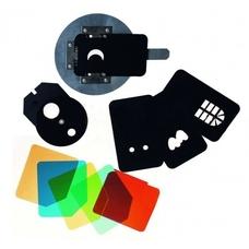 Strobolight SN-OST - Оптическая насадка с масками Гобо для создания эффектов с переходником на Bowens