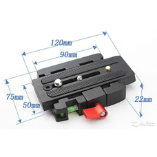 Strobolight P200 адаптер с быстросъемной площадкой - аналог Manfrotto 577 для 501/500AH/701HDV/503HDV/Q5