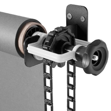 Strobolight B-325/3 - Крепление на стену или потолок для 3-х фонов шириной до 3,25 метра с подъёмным механизмом фона и трубой