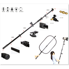 Strobolight KS-11 - Ручной держатель отражателя и журавль 80-180cm