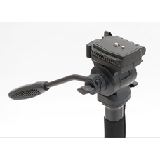 Fujimi FM222V Алюминиевый монопод с 3-х точечным упором и головой (1470 мм)