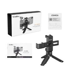 Commlite VF-OP01 раздвижной зажим для мобильных телефонов+ OSMO Pocket с креплением под башмак, крепление на штатив