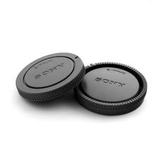 Крышки для объектива Sony E-mount (комплект, крышка байонета и задняя крышка, серого цвета)