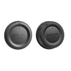 Крышки для объектива Nikon (комплект, крышка байонета и задняя крышка, черного цвета)