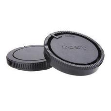 Крышки для объектива Sony A-Minolta (комплект, крышка байонета и задняя крышка, черного цвета)