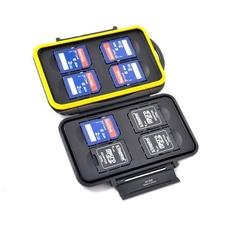 Strobo* JJC MC-SD8 Пыле-влагозащитный кейс для карт памяти