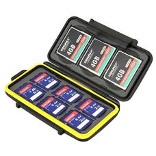 Strobo* JJC MC-SD6CF3 Пыле-влагозащитный кейс для карт памяти