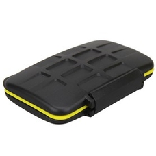 Пластиковый кейс Strobo* JJC MC-CF6 Пыле-влагозащитный для карт памяти