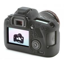 Силиконовый чехол для фотоаппарата Canon EOS 6D (цвет черный)