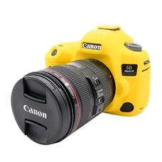 Силиконовый чехол для фотоаппарата Canon EOS 5D Mark IV (цвет желтый)