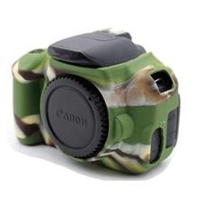 Силиконовый чехол для фотоаппарата Canon EOS 600D (цвет камуфляжный)