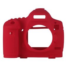 Силиконовый чехол для фотоаппарата Canon EOS 5D Mark III (цвет красный)