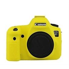 Силиконовый чехол для фотоаппарата Canon EOS 6D (цвет желтый)