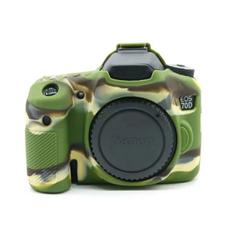 Силиконовый чехол для фотоаппарата Canon EOS 70D (цвет камуфляжный)