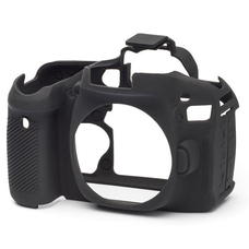 Силиконовый чехол для фотоаппарата Canon EOS 60D (цвет черный)