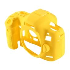 Силиконовый чехол для фотоаппарата Canon EOS 77D (цвет желтый)