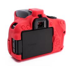 Силиконовый чехол для фотоаппарата Canon EOS 650D/700D (цвет красный)