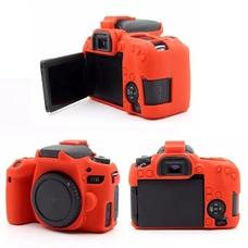 Силиконовый чехол для фотоаппарата Canon EOS 77D (цвет красный)