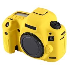 Силиконовый чехол для фотоаппарата Canon EOS 5D Mark III (цвет желтый)