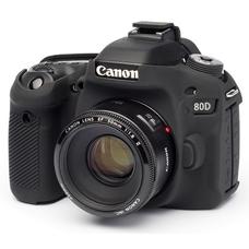 Силиконовый чехол для фотоаппарата Canon EOS 80D (цвет черный)