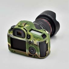 Силиконовый чехол для фотоаппарата Canon EOS 5D Mark III (цвет камуфляжный)