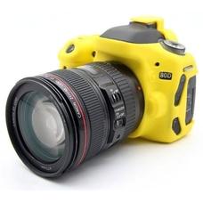 Силиконовый чехол для фотоаппарата Canon EOS 70D (цвет желтый)