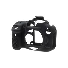 Силиконовый чехол для фотоаппарата Canon EOS 70D (цвет черный)