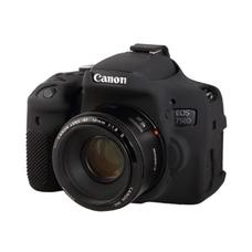 Силиконовый чехол для фотоаппарата Canon EOS 750D (цвет черный)
