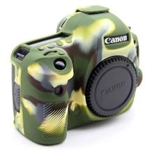 Силиконовый чехол для фотоаппарата Canon EOS 80D (цвет камуфляжный)