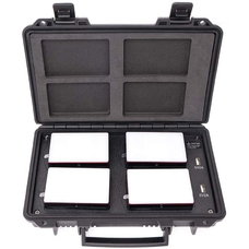 Aputure AL-MC 4 Light Travel Kit RGBW 3200-6500K - Комплект накамерных LED осветителей