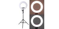 Strobolight SRL-18 - Кольцевой осветитель 48см для визажистов, фотографов и блогеров без стойки