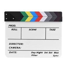 Strobolight Clapperboard 05 - Кинохлопушка цветная