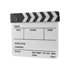 Strobolight Clapperboard 03 - Кинохлопушка белая