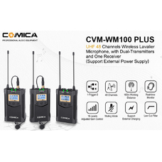 Comica CVM-WM100 PLUS Радиопетличная система