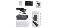 Микрофон-пушка Comica CVM-V30B PRO супер-кардиоида для камеры и смартфона