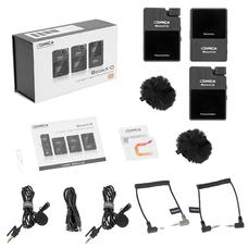 Comica BoomX-D D2 (TX+TX+RX) - Беспроводная радио система с петличными микрофонами