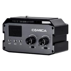 Comica CVM-AX3 Аудиомикшер двухканальный с фантомным питанием