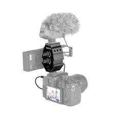 Boya BY-MP4 Двухканальный аудио адаптер(микшер)