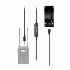 Boya '35C-USB-C Переходник-адаптер с TRS (3.5 мм) на USB-C