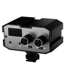Comica CVM-AX1 Аудиомикшер двухканальный с фантомным питанием
